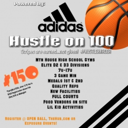 HUSTLE ON 100  Spring Invitational powered by ADIDAS · Competition ·  OPENBALL a8ab910a5